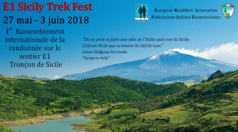 SICILE 2018 : E1 Sicily Trek Fest