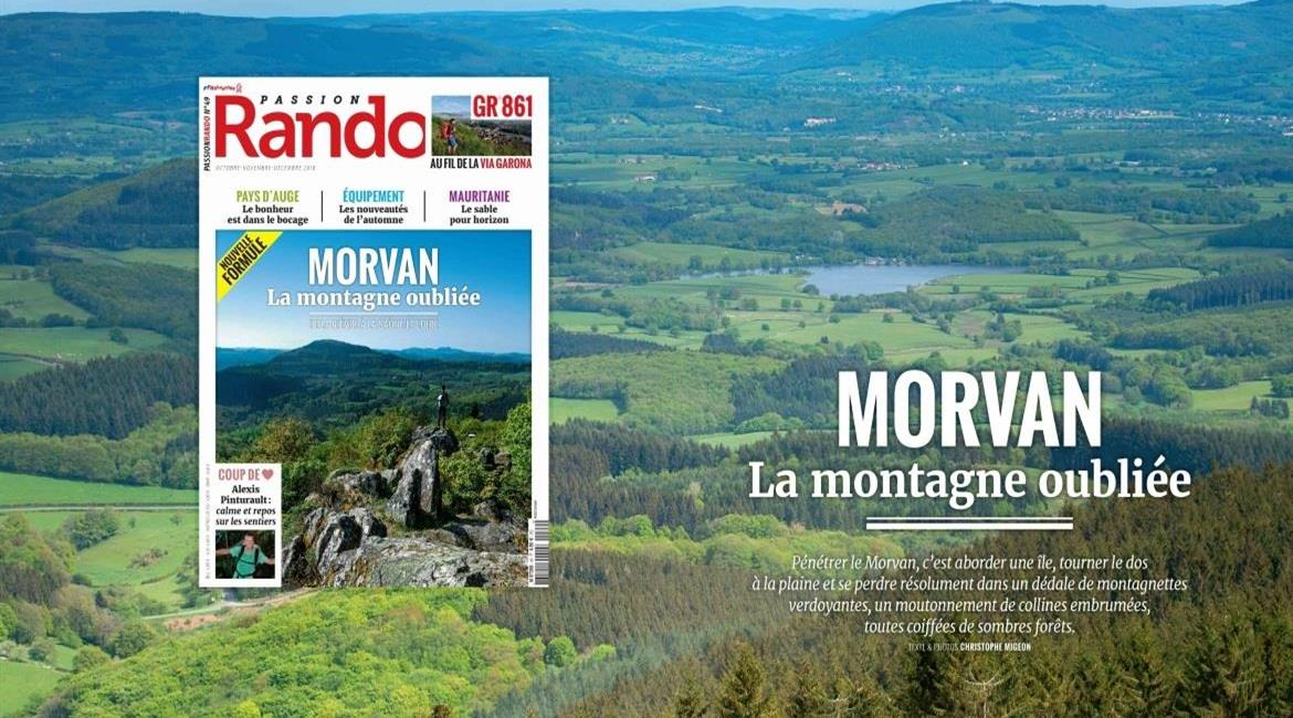 MEDIA : Le Morvan, destination automnale de Passion Rando