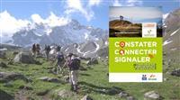Signalez les anomalies des itinéraires de randonnée !