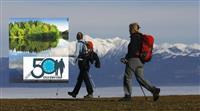 Un livre commémoratif des 50 ans de la FERP Fédération Européenne de la randonnée pédestre